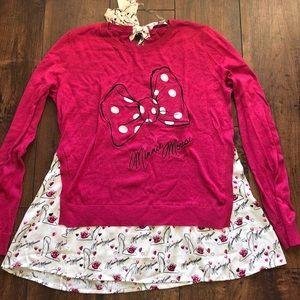 Minnie Mouse Disney parks sweater